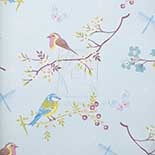 Eijffinger PiP IV Early Bird Light Blue 375081 Behang