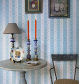 Room Seven Dentelle Stripe Pale Blue 2200303