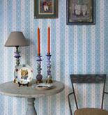 Room Seven Dentelle Stripe Pale Blue 2200303