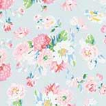 Behang Room Seven Field of Flowers La Vie en Rose  Blue 3900020