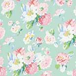 Behang Room Seven Field of Flowers La Vie en Rose  Mint 3900026