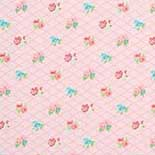 Behang Room Seven Field of Flowers Losange Pink 3900031