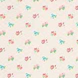 Behang Room Seven Field of Flowers Losange Beige 3900033