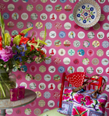 Room Seven Mural Ole Pink 2200121