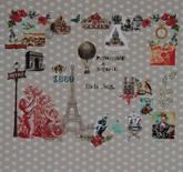 Room Seven Mural Paris Je T'aime Beige 2200110