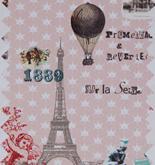 Room Seven Mural Paris Je T'aime Pink 2200112