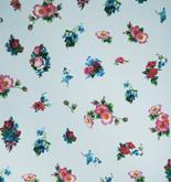 Room Seven Romantic Flower Pale Blue 2200602