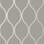 Thibaut Geometric 2 T11047 Charcoal Behang