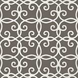 Thibaut Geometric 2 T11069 Charcoal Behang