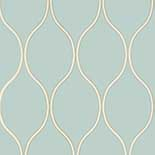 Thibaut Geometric 2 T11046 Mineral Blue Behang