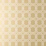 Thibaut Geometric 2 T11010 Metallic Champagne Behang
