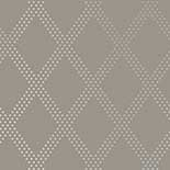 Thibaut Geometric 2 T11039 Silver on Charcoal Behang
