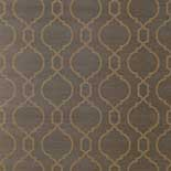 Thibaut Geometric 2 T11058 Metallic Gold on Brown Behang