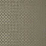 Thibaut Geometric 2 T11026 Metallic Gold on Charcoal Behang