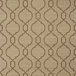 Thibaut Geometric 2 T11073 Brown on Linen Behang