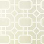 Thibaut Geometric 2 T11000 White on Pearl Behang