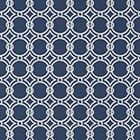 Thibaut Geometric 2 T11018 Navy Behang