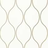 Thibaut Geometric 2 T11041 Pearl Behang