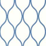 Thibaut Geometric 2 T11044 Blue Behang
