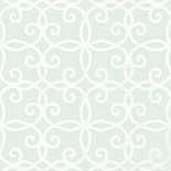 Thibaut Geometric 2 T11062 Aqua Behang
