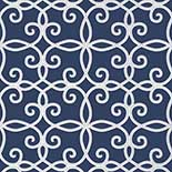 Thibaut Geometric 2 T11070 Navy Behang