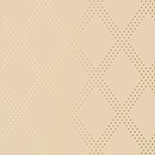 Thibaut Geometric 2 T11037 Pewter on Taupe Behang