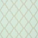 Thibaut Graphic Resource T35120 Linen on Aqua Behang