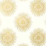 Thibaut Graphic Resource T35143 Metallic Gold on Cream Behang