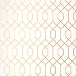 Thibaut Graphic Resource T35196 Metallic Gold Behang