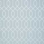 Thibaut Graphic Resource T35201 Metallic Silver on Blue Behang