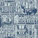 Thibaut Graphic Resource T35175 Navy Behang