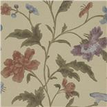 Behang Little Greene Archive Trails China Rose 1885 Bronze