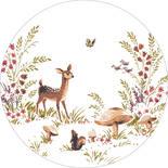 Esta Home Forest Friends 159074 Zelfklevende Behangcirkel