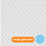Glasvezelbehang Wit voorgeschilderd Ruit Sterk 12009 | 119 gr/m² (25 x 1m)