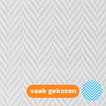 Glasvezelbehang Wit Visgraat Extra sterk 1328 | 160 gr/m² (25 x 1m)