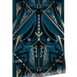 KEK Amsterdam Gold Art Deco Animaux MW-004 Behang