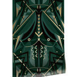 KEK Amsterdam Gold Art Deco Animaux MW-005 Behang