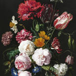 KEK Amsterdam Golden Age Flowers BP-039 Behang
