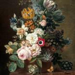 KEK Amsterdam Golden Age Flowers PA-036 Behang