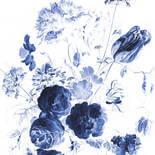 KEK Amsterdam Royal Blue Flowers BP-044 Behang XL