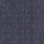 Khroma by Masureel Gatsby GAT001 Deco Mahogany Behang