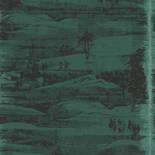 Khroma by Masureel Misuto MIS201 Heian Emerald Behang