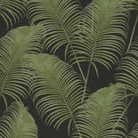 Khroma by Masureel Oxygen OXY404 Paloma Dark Emerald Behang