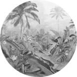 Komar Dots Amazonian Spirit D1-055 Zelfklevende Behangcirkel