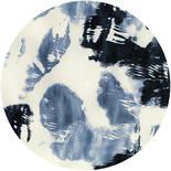 Komar Dots Arty Blue D1-044 Zelfklevende Behangcirkel
