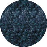 Komar Dots Azul D1-038 Zelfklevende Behangcirkel