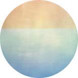 Komar Dots Balance D1-052 Zelfklevende Behangcirkel
