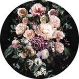 Komar Dots Enchanted Flowers D1-030 Zelfklevende Behangcirkel