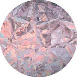 Komar Dots Glossy Crystals D1-009 Zelfklevende Behangcirkel