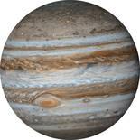 Komar Dots Jupiter D1-017 Zelfklevende Behangcirkel